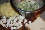 Ингредиенты для сырного суфле