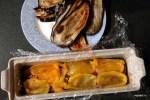 Выкладываем овощи слоями в форму для террина
