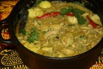 Капско-малайское карри из курицы