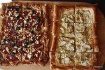 Тарты с красными перцами и маслинами и с артишоками