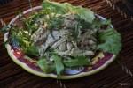Салат из холодного цыпленка