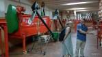 На фабрике по производству  паприки в Хараис де ла Вера