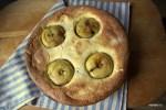 Суфле из манки с печеными яблоками