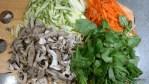Овощи для бибимбапа