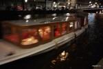 Самая старая лодка из тех что воит туристов по каналам Амстердама