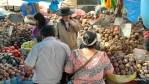 На рынке в Куско