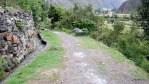 Остатки дороги инков в районе Ольянтайтамбо