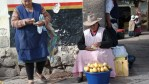 Уличные торговки в Куско