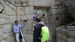 Так были устроены ворота в Мачу-Пикчу, которые закрывались на ночь
