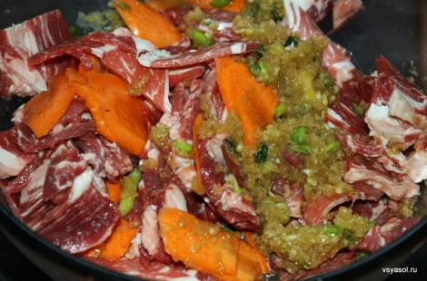Маринуем мясо для бульгоги