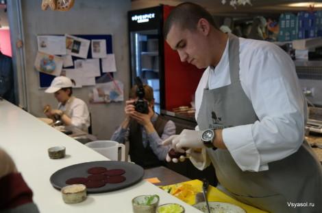 Михаил Кукленко шеф –повар  клуба-ресторана Ribambelle