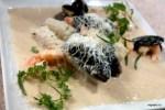 Кнели из щуки и морепродуктов от Мишеля Ломбарди