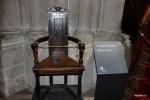 Кресло Жана Кальвина в Соборе Св.Петра в Женеве
