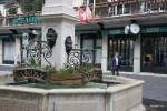 Бесплатная питьевая вода рядом с одним из самых дорогих отелей Женевы