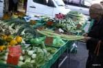 Это что за диковинный овощ? Рынок Пленпале, Женева