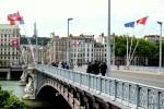 Лион, мост через Рону
