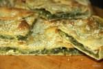 Критский пирог со шпинатом