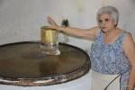 Такой круг для изготовления Волос Ангела - единственный в Греции. Ретимно, Крит