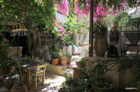 Ресторан Avli в Ретимно. Крит