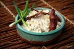 Салат из кукурузы с жареным беконом