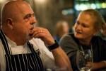 С южноафриканским шеф-поваром Питером  Гофф-Вудом