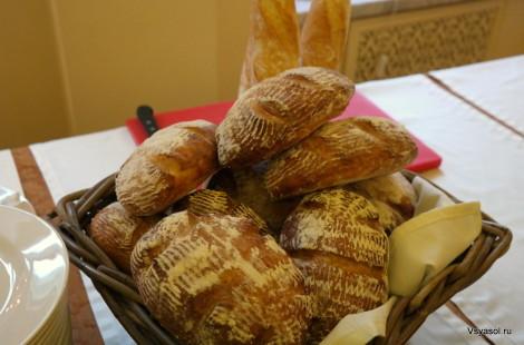 Бездрожжевой хлеб от Мишеля Ломбарди