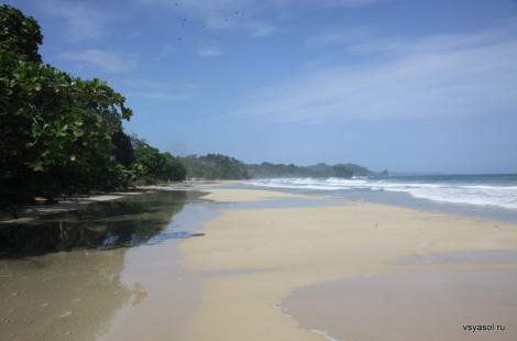 Пляж Red Frog на острове Бастиментос, Панама