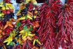 Перцы на рынке в Сольере. Майорка