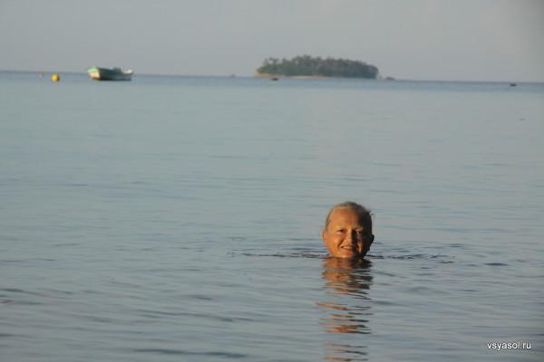 Сейчас рядом со мной из воды выпрыгнет огромный скат. Плайя Эхекутива, Контадора