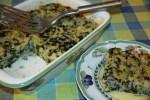 Пьемонтский рисовый пирог со шпинатом