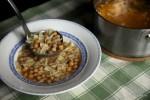 Итальянская похлебка pasta e ceci