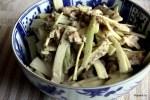 Японский салат из цыпленка с сельдереем