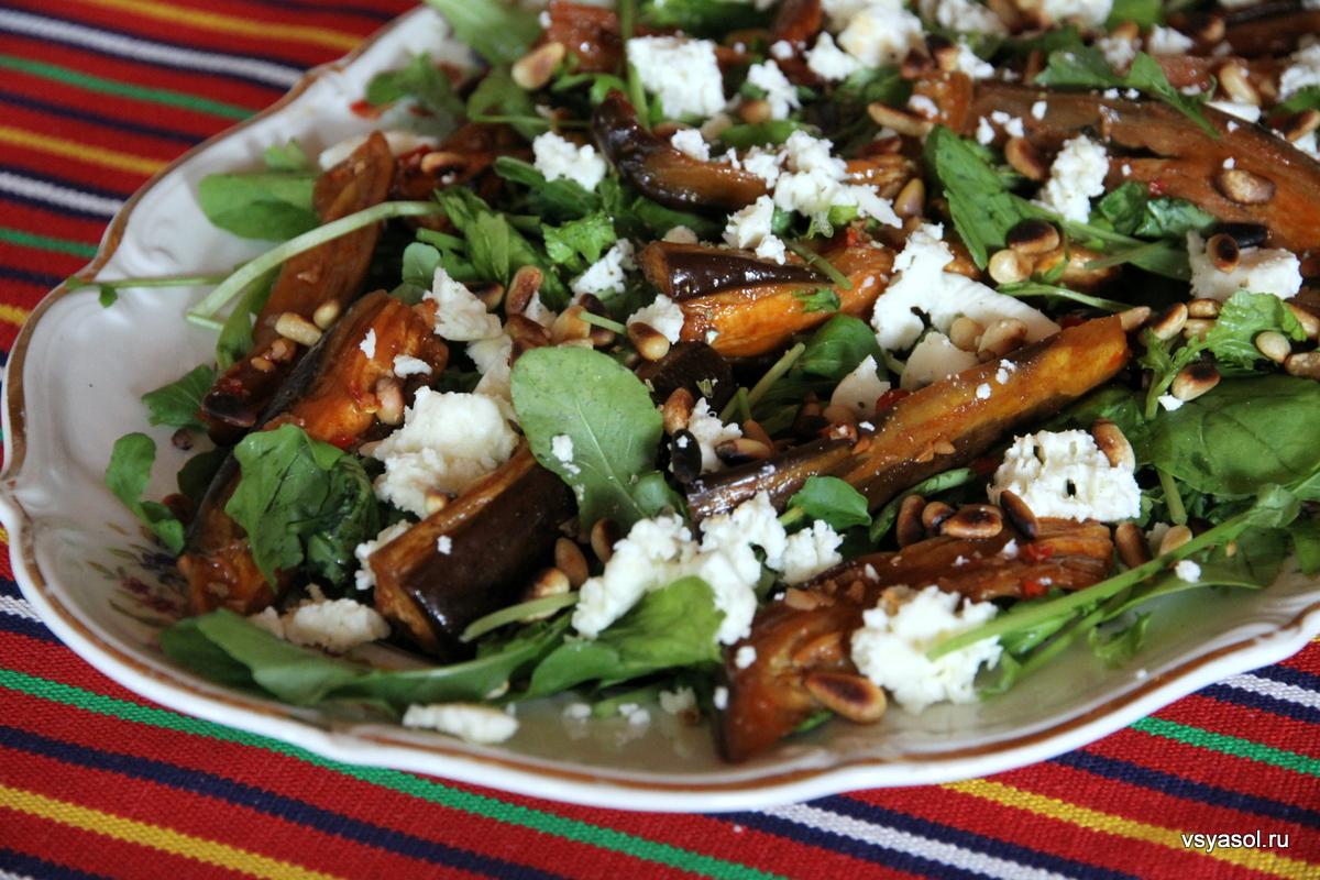 Кулинария салат из брокали