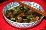 Холодный салат из баклажанов