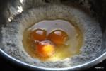 Готовим тесто для матафана