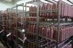 В цеху готовой продукции завода