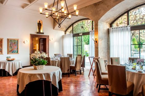 Ресторан Усто-де Боманьер. Фото: l'Oustau de Baumanière
