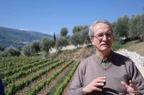 Бернар Николетти, владелец Domaine de Toasc,. Прованс