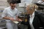 С пекарем Жюльеном Бенетто в Усто-де-Боманьер. Фото: Марина Смирнова