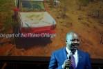 Представитель посольства Кении на открытии фестиваля в Москве