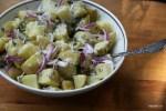 Картофельный салат с домашним хреном