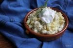 Картофельное пюре на гриле