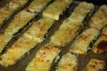 Запекаем цукини в хлебных крошках