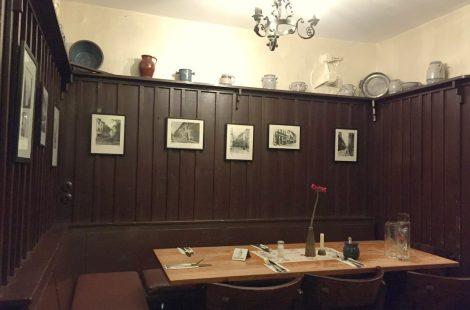 Один из трех залов Zur Letzten Instanz