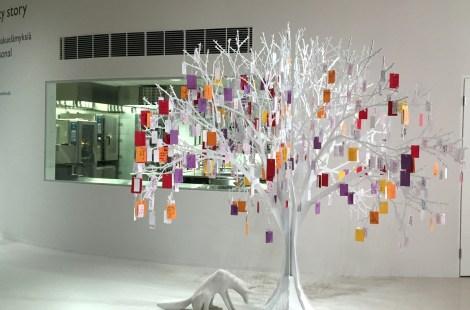 Дерево желаний (и пожеланий) Fazer