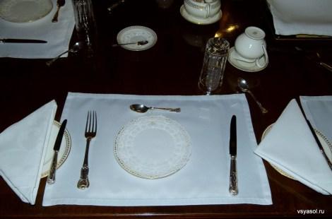 Английская сервировка стола