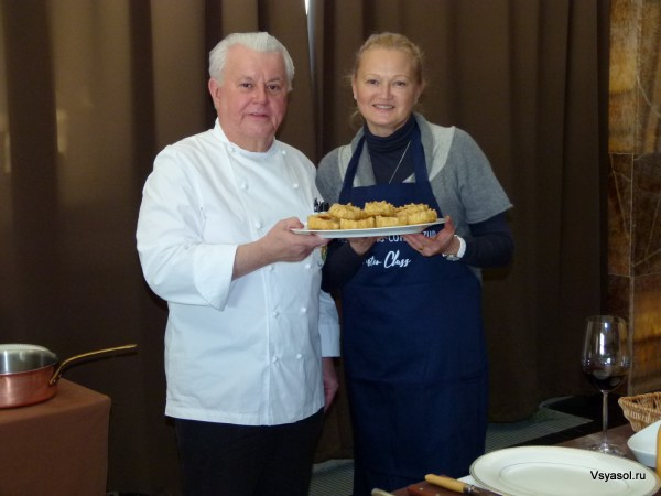 С мишленовским шеф-поваром из Прованса Жани Глейзом