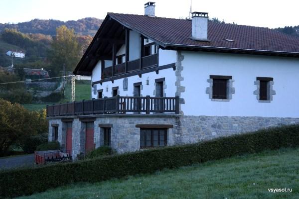 Баскский деревенский дом, провинция Гипускуа, Испания