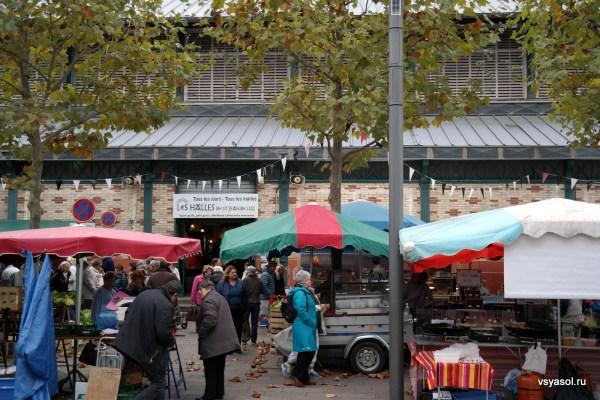Рынок в Сан-Жан-де-Люз