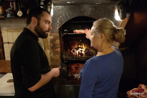Хаби делится секретами приготовления настоящего баскского чулетона